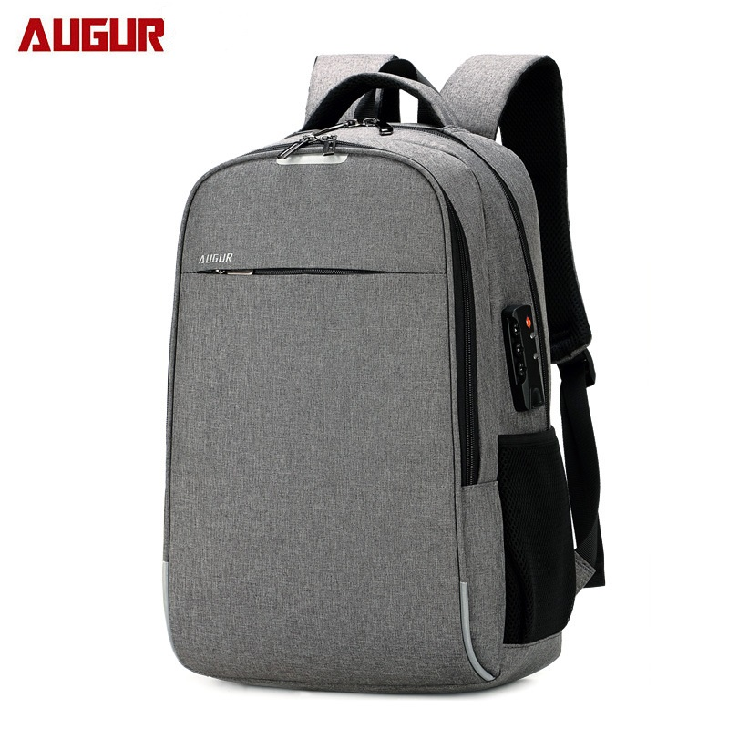 fe06511b3e5 AUGUR 20.4 Inch Anti Theft Laptop Backpack With USB Charging Port ...