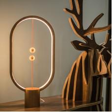ALLOCACOC Smart Magnetic Balance Lamp Bedside Bedroom Night Light