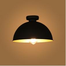 Design Industrial Vintage Ceiling Light Φ 31cm . Black for Living Room Dining Room Restaurant
