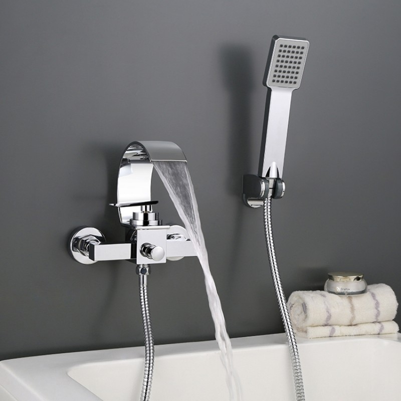 Premium Alloy Bathtub Shower Water Mixing Valve Faucet Tap