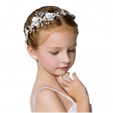 Headdress Beading Girls Hair Accessories Ceremony Party Wedding