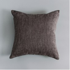 """Loikee  Chenille simple solid color sofa decorated pillow,18"""" x 18"""""""
