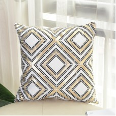 "Plush Square Printed Home Decoration Throw Pillow Case,18"" x 18"""