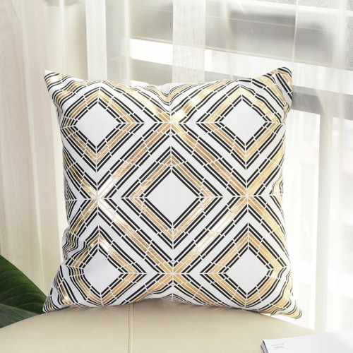"Plush Square Printed Home Decoration Throw Pillow Case,18"" x 18"""