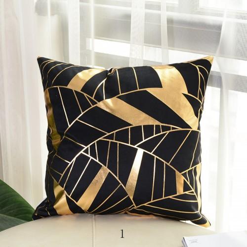 """Geometric Retro Scandinavian Cotton Linen Cushion/Pillow  18 x 18"""""""